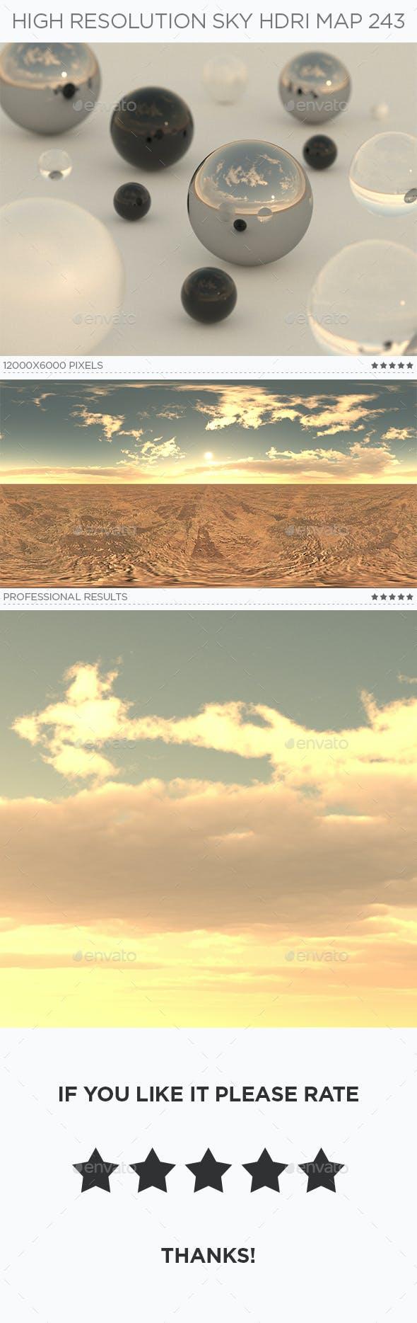 High Resolution Sky HDRi Map 243 - 3DOcean Item for Sale
