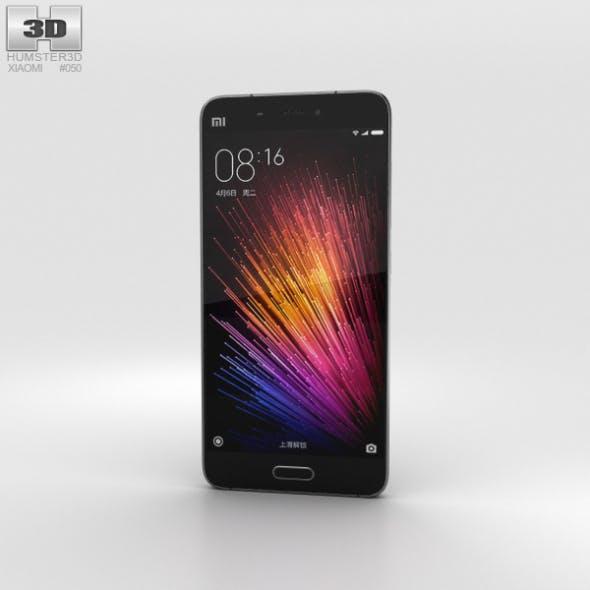 Xiaomi Mi 5 Black - 3DOcean Item for Sale