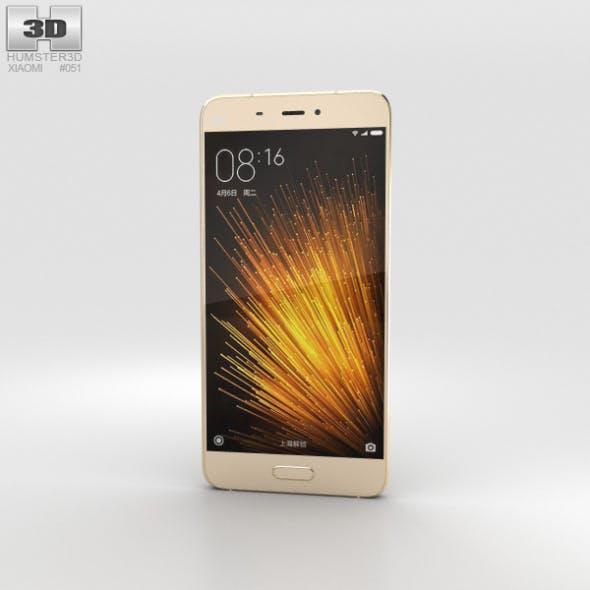 Xiaomi Mi 5 Gold - 3DOcean Item for Sale