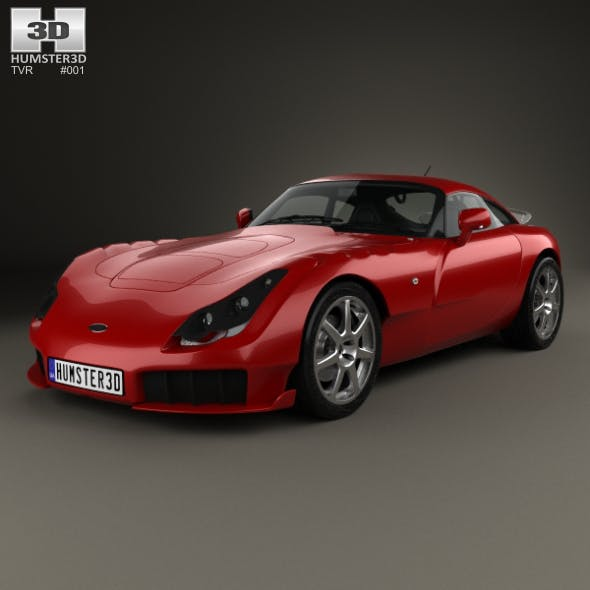 TVR Sagaris 2004 - 3DOcean Item for Sale