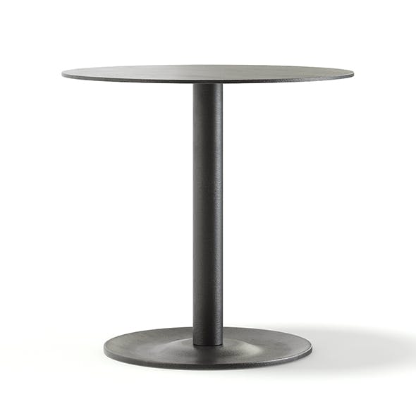 Round Metal Table 3D Model - 3DOcean Item for Sale