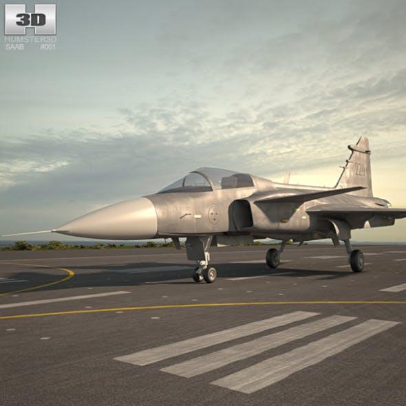 Saab JAS 39 Gripen - 3DOcean Item for Sale