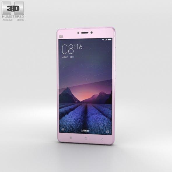 Xiaomi Mi 4s Pink - 3DOcean Item for Sale