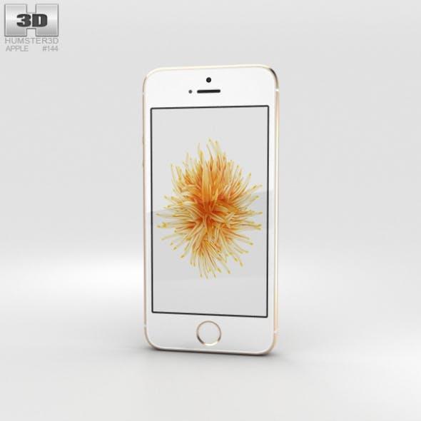 Apple iPhone SE Gold - 3DOcean Item for Sale