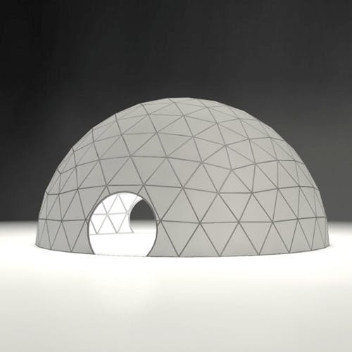 geodesic dome - 3DOcean Item for Sale