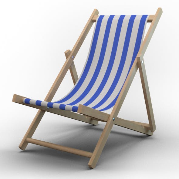 Beach Chair - 3DOcean Item for Sale