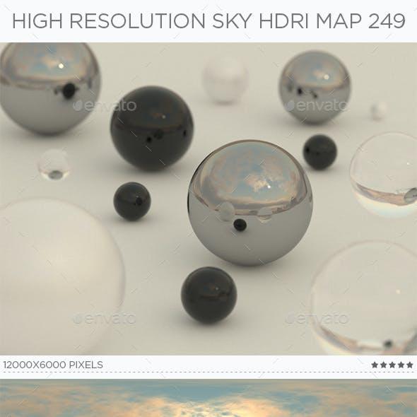 High Resolution Sky HDRi Map 249
