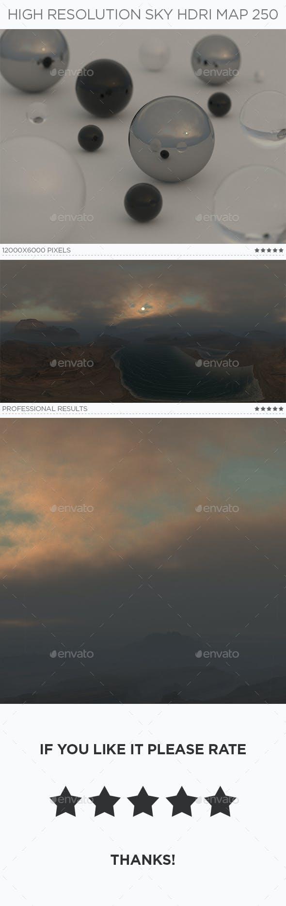 High Resolution Sky HDRi Map 250 - 3DOcean Item for Sale
