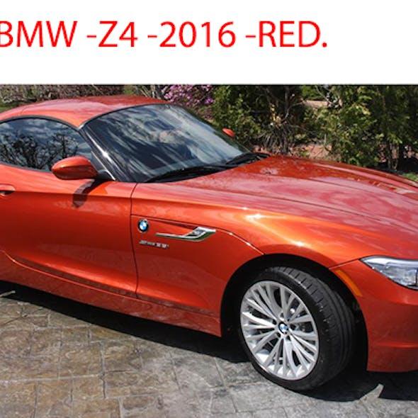 BMW Z4 Red