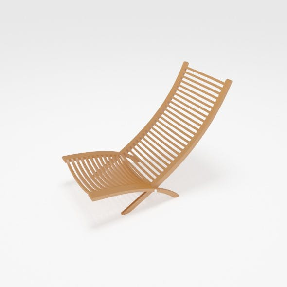New model chair relaxed