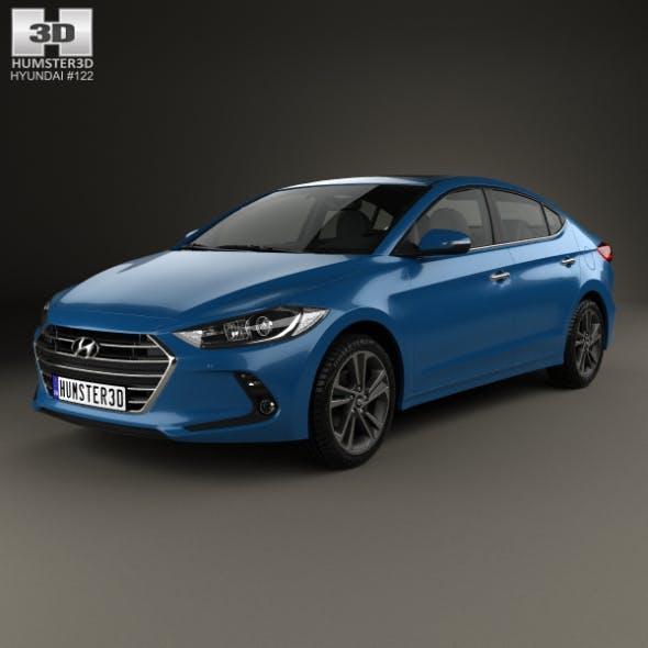 Hyundai Elantra (CN) 2017 - 3DOcean Item for Sale