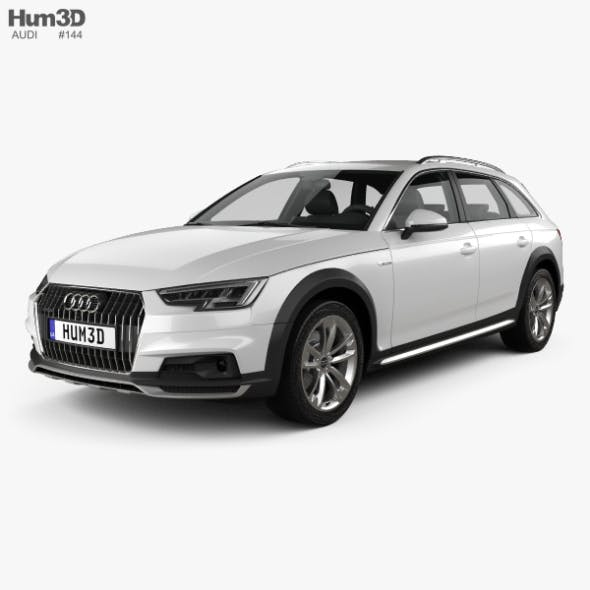 Audi A4 (B9) Allroad 2017 - 3DOcean Item for Sale