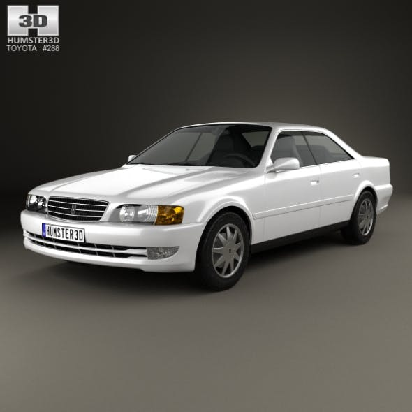 Toyota Chaser 1998 - 3DOcean Item for Sale