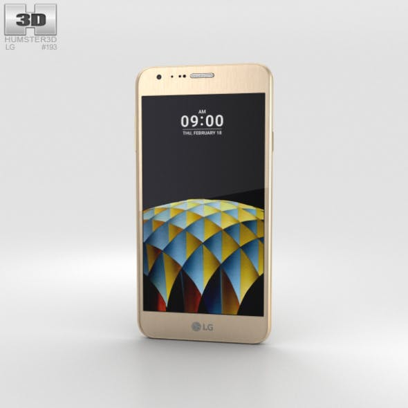 LG X Cam Gold - 3DOcean Item for Sale