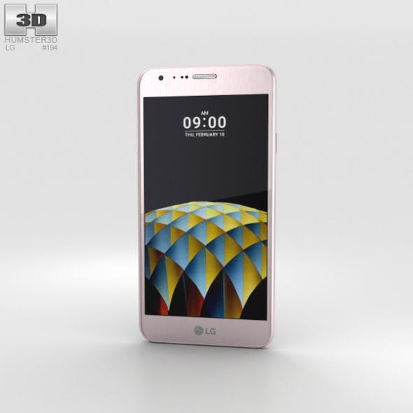 LG X Cam Pink Gold