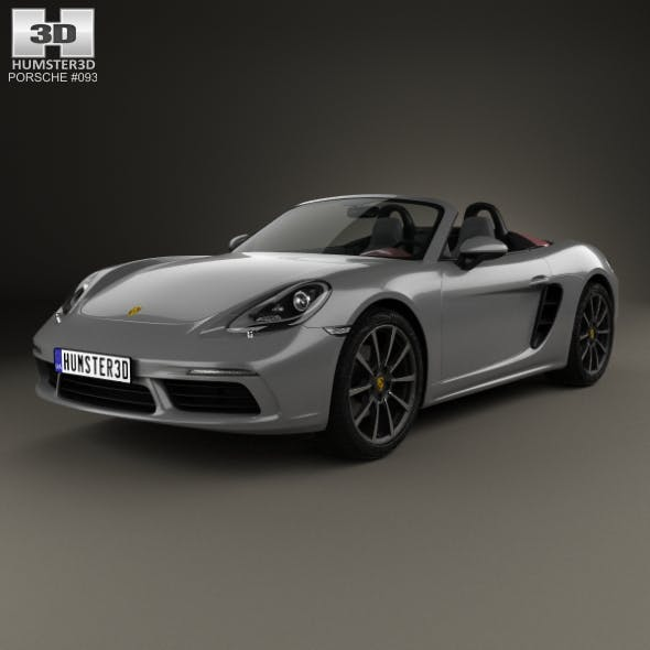 Porsche 718 Boxster 2016 - 3DOcean Item for Sale