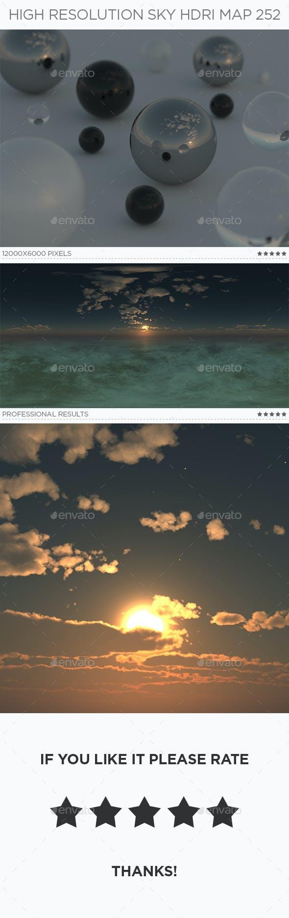 High Resolution Sky HDRi Map 252 - 3DOcean Item for Sale
