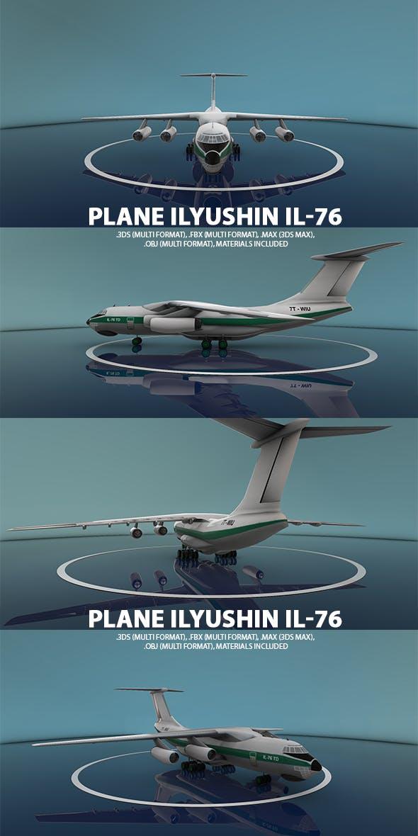 Ilyushin Il-76 Plane - 3DOcean Item for Sale