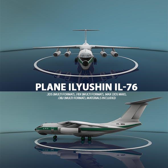 Ilyushin Il-76 Plane