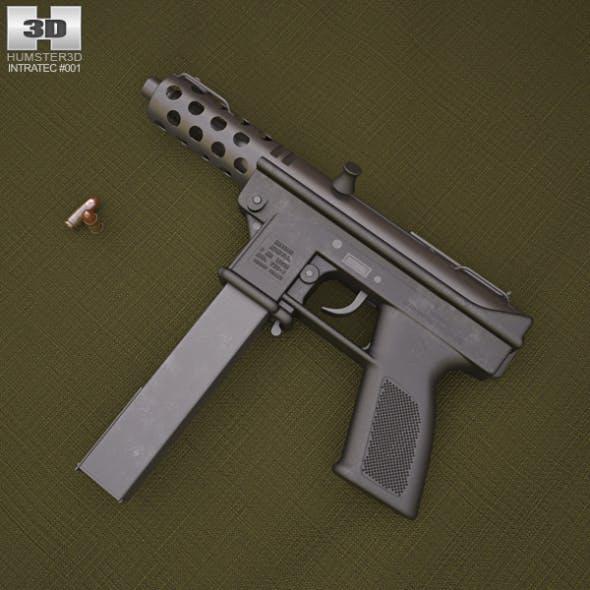 Intratec TEC-9 - 3DOcean Item for Sale