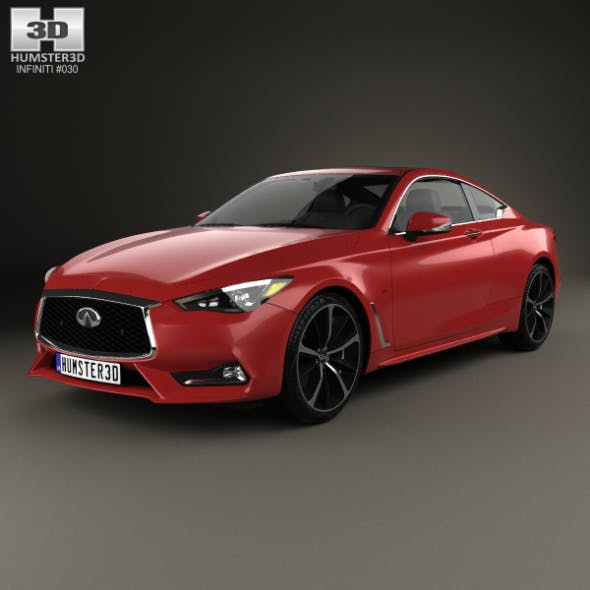 Infiniti Q60 S 2017 - 3DOcean Item for Sale