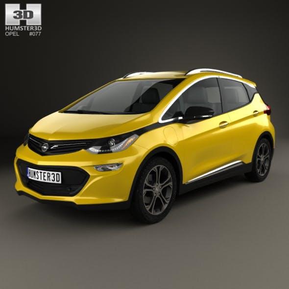 Opel Ampera-e 2017 - 3DOcean Item for Sale