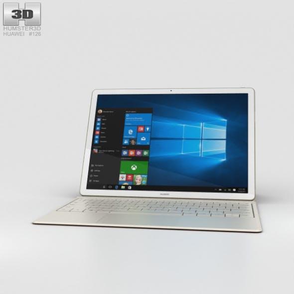Huawei MateBook Golden - 3DOcean Item for Sale