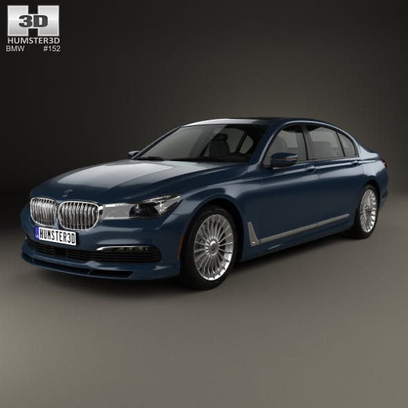 BMW 7 Series (G12) B7 Alpina 2017 - 3DOcean Item for Sale