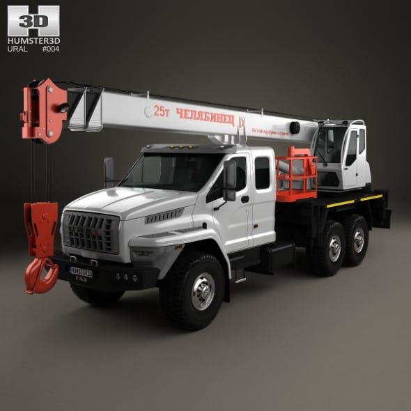 Ural Next Crane Truck 2015 - 3DOcean Item for Sale