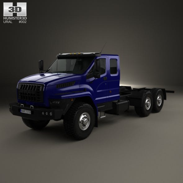 Ural Next Chassis Truck 2015 - 3DOcean Item for Sale