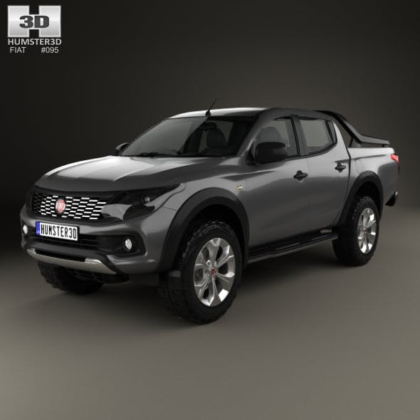 Fiat Fullback Concept 2016 - 3DOcean Item for Sale