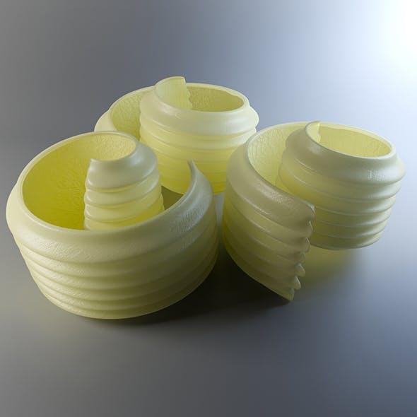 Butter balls - 3DOcean Item for Sale
