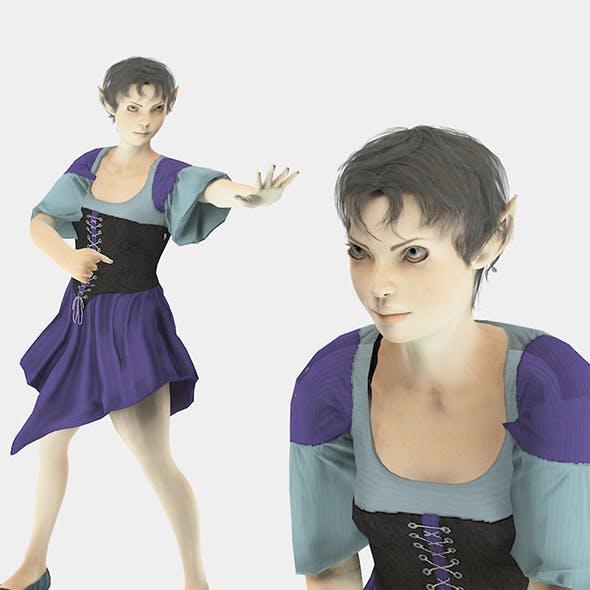 Elf Woman1