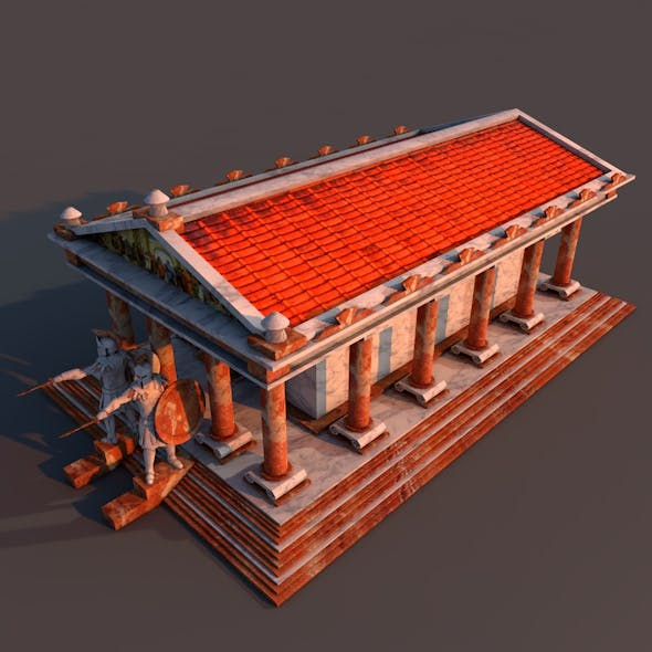 Ancient Temple - 3DOcean Item for Sale