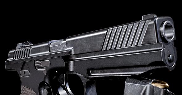 PL-14 HQ Pistol 8K - 3DOcean Item for Sale