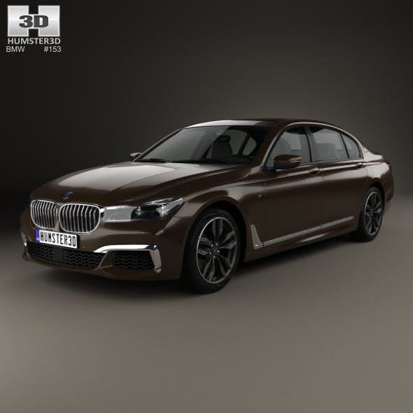 BMW M7 (G12) 2017 - 3DOcean Item for Sale