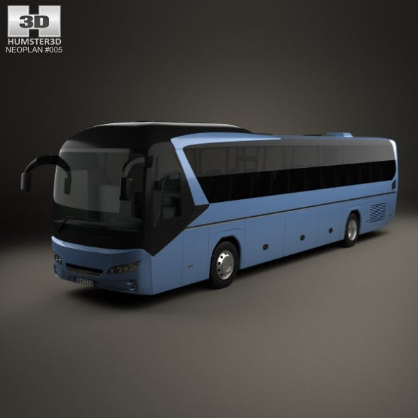 Neoplan Jetliner Bus 2012 - 3DOcean Item for Sale