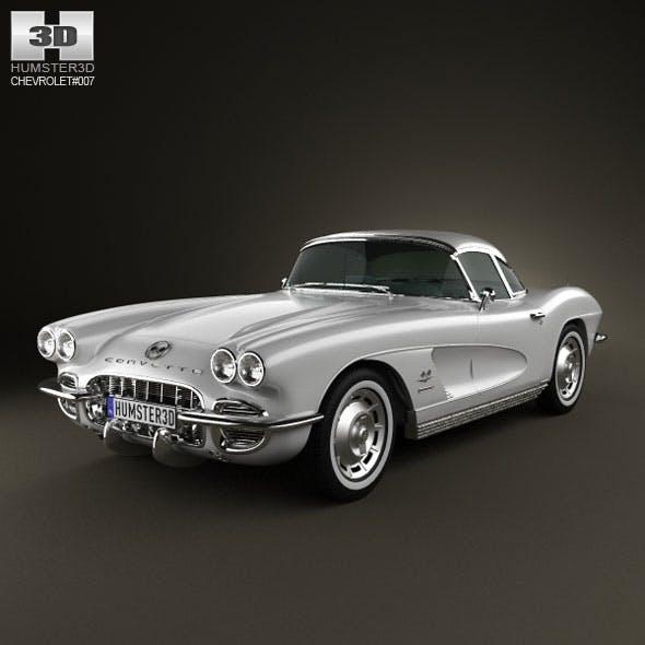 Chevrolet Corvette 1962 - 3DOcean Item for Sale