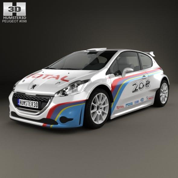 Peugeot 208 R5 2013 - 3DOcean Item for Sale