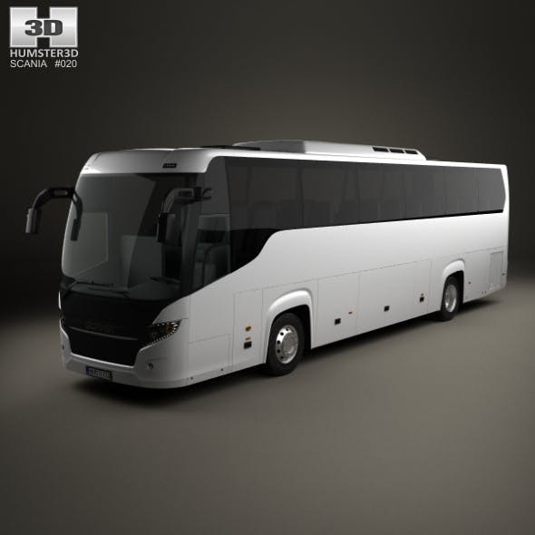 Scania Touring Bus 2009 - 3DOcean Item for Sale