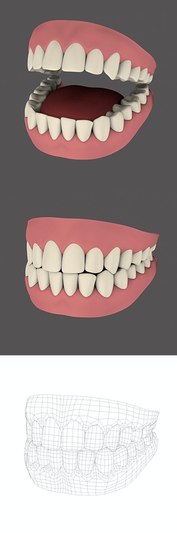 Teeth - 3DOcean Item for Sale
