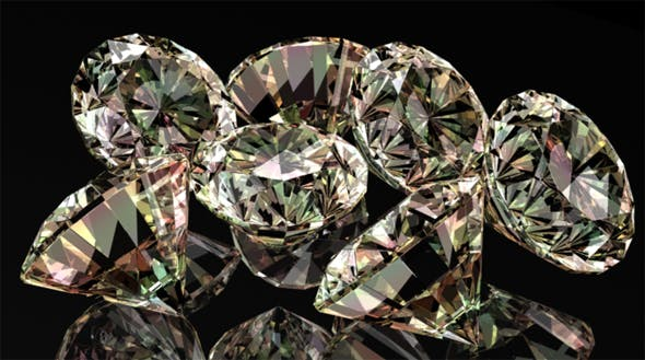 Crystal Diamond Shader - 3DOcean Item for Sale