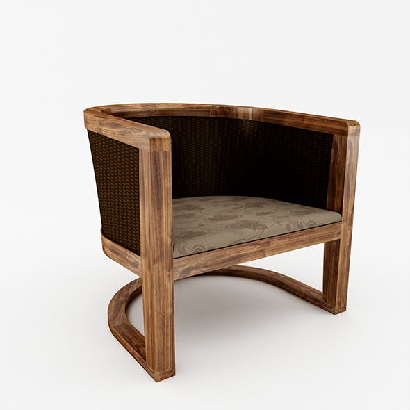 Lounge Chair - 3DOcean Item for Sale