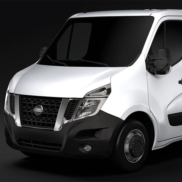 Nissan NV 400 L1H1 Van 2017 - 3DOcean Item for Sale