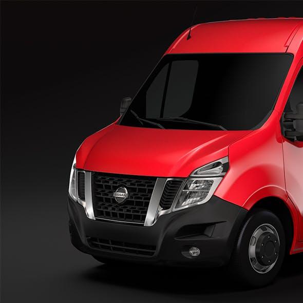 Nissan NV 400 L1H2 Van 2017 - 3DOcean Item for Sale