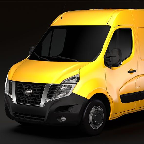 Nissan NV 400 L2H2 Van 2017 - 3DOcean Item for Sale
