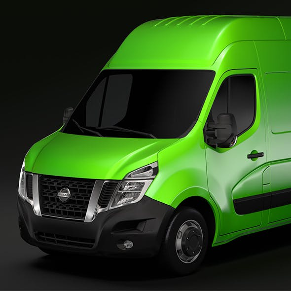 Nissan NV 400 L2H3 Van 2017 - 3DOcean Item for Sale