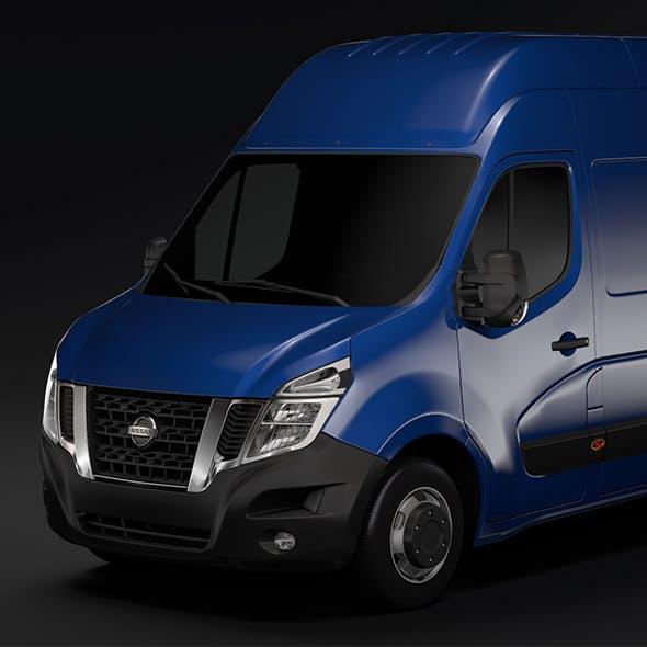 Nissan NV 400 L3H3 Van 2017 - 3DOcean Item for Sale