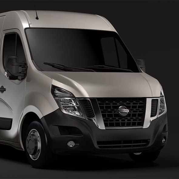 Nissan NV 400 L4H2 Van 2017 - 3DOcean Item for Sale