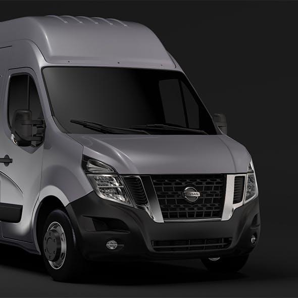 Nissan NV 400 L4H3 Van 2017 - 3DOcean Item for Sale